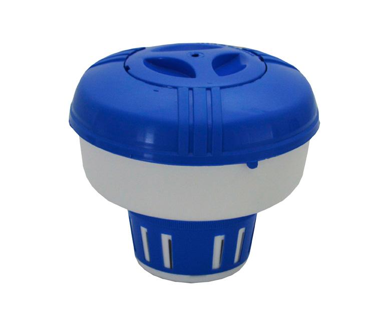 Boya dosificadora de cloro vulcano con regulador de todo for Regulador de nivel piscina