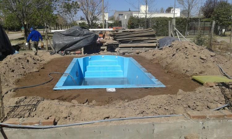 instalacin de piscina de fibra de vidrio - Piscinas De Fibra De Vidrio